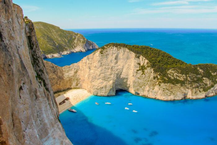Daily cruise to magnificent Zante